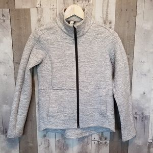 LULULEMON HEATHER GRAY GOING PLACES JACKET SIZE 2
